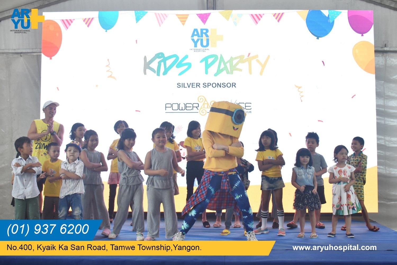 Aryu Kid Party